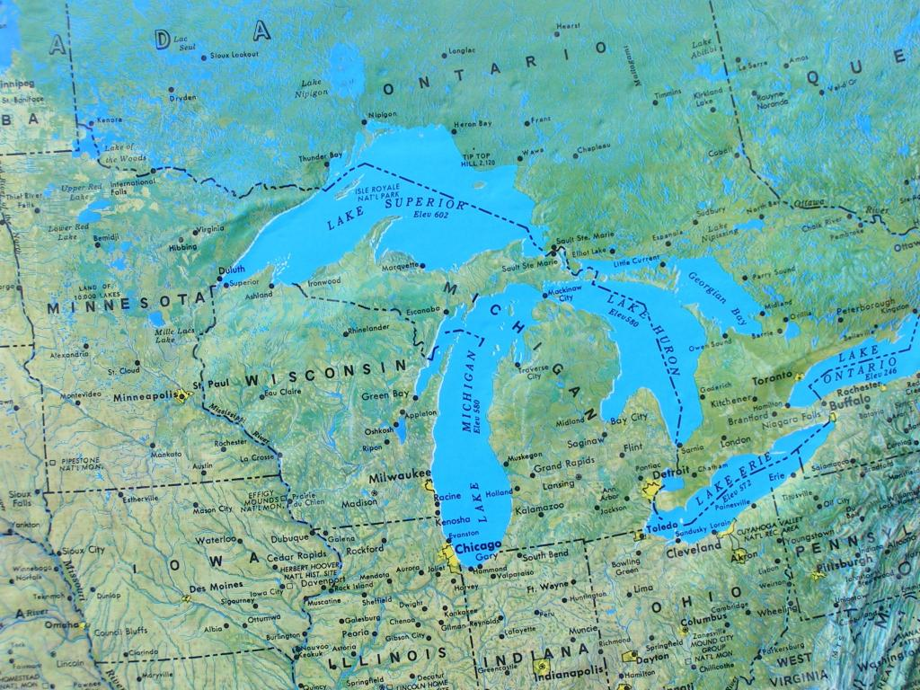 Great Lakes Which came first the non