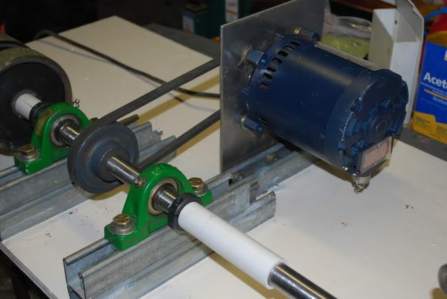 My latest project rock tumbling hobby for Diy rock tumbler motor